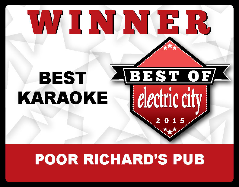 Poor Richard's Pub Best of 2015